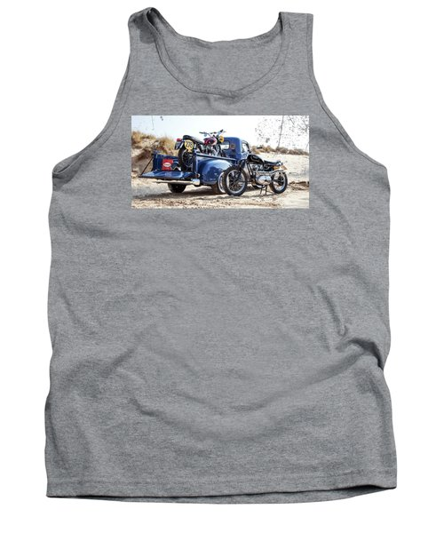 Desert Racing Tank Top by Mark Rogan