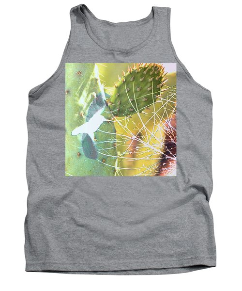 Tank Top featuring the photograph Desert Spring by Kathy Bassett