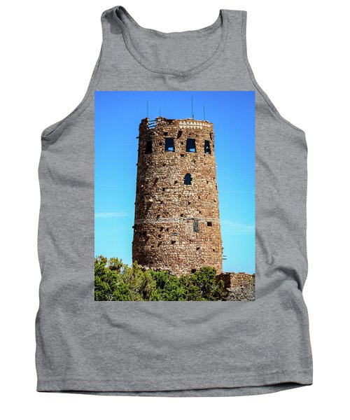 Desert View Watchtower At The Grand Canyon Tank Top