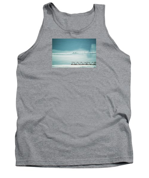 Tank Top featuring the photograph Designs And Lines - Winter In Switzerland by Susanne Van Hulst