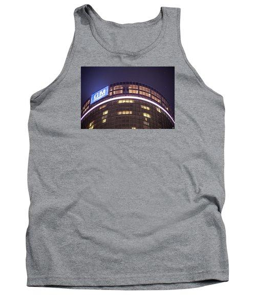 Tank Top featuring the photograph Detroit Renaissance Center by Nicholas  Grunas
