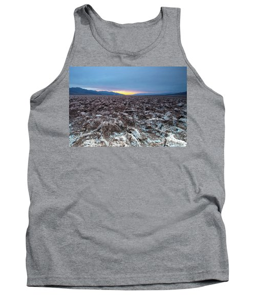 Tank Top featuring the photograph Devil's Golf Course  by Catherine Lau