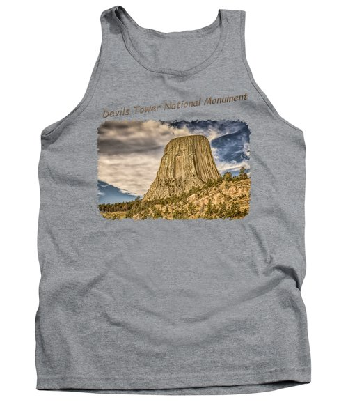 Devils Tower Inspiration 2 Tank Top