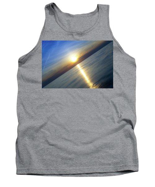 Diagonal Sunset Tank Top
