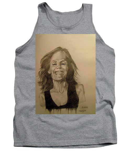 Tank Top featuring the painting Diana by Ray Agius