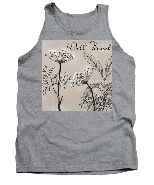 Dill Weed Flowering Herb Tank Top