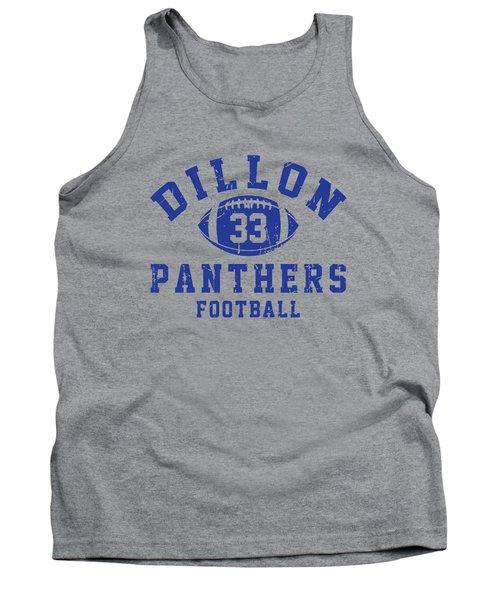 Dillon Panthers Football 2 Tank Top