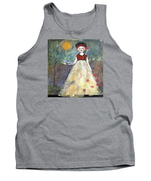 Dining By Midnight  Tank Top