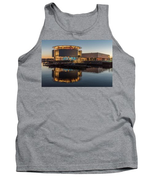 Tank Top featuring the photograph Discovery World by Randy Scherkenbach