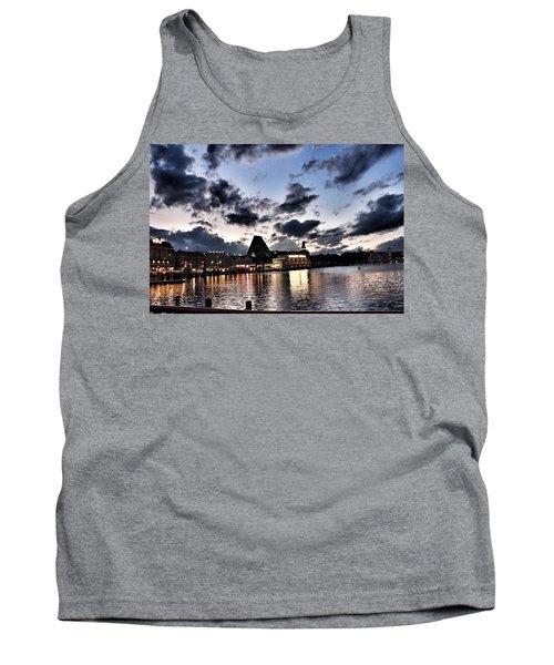 Disney Boardwalk Sunset Tank Top