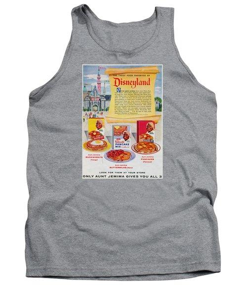 Disneyland And Aunt Jemima Pancakes  Tank Top