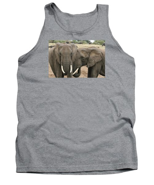 Tank Top featuring the photograph Display Of Affection by Gary Hall