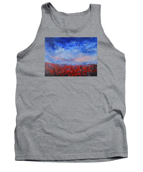 Divine Red Tank Top