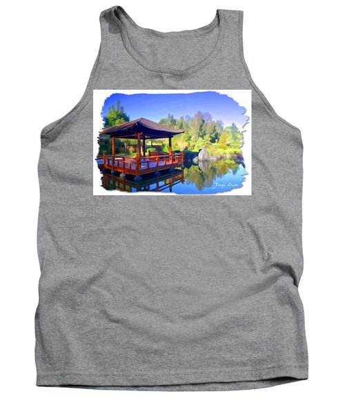 Do-00003 Shinden Style Pavilion Tank Top by Digital Oil