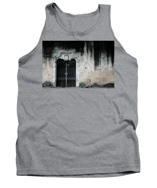 Tank Top featuring the photograph Do Not Enter by Marco Oliveira