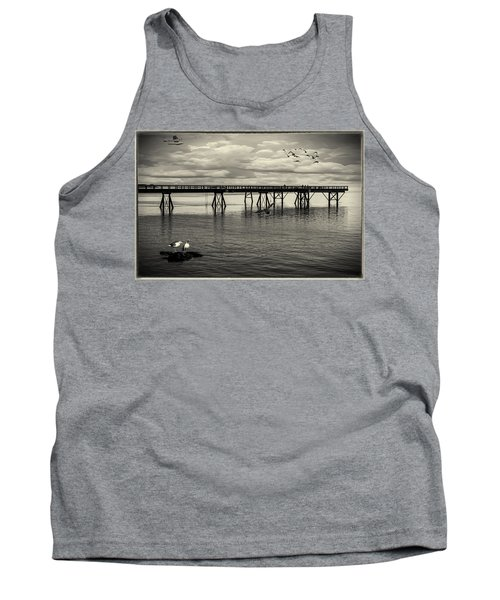 Dock On The Sea Tank Top