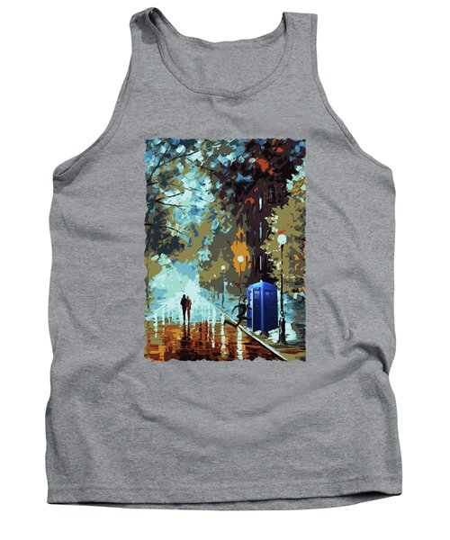 Doctor Who Art Painting Tank Top