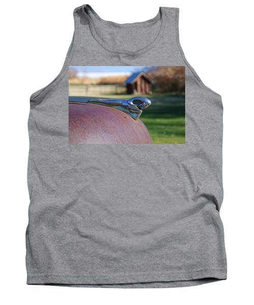 Tank Top featuring the photograph Dodge Emblem by Ely Arsha