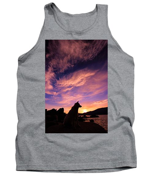 Dogs Dream Too Tank Top by Sean Sarsfield