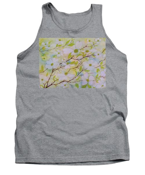 Dogwood Blossoms Tank Top