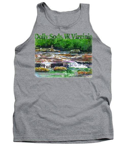 Dolly Sods Waterfalls Wv Shirt Tank Top
