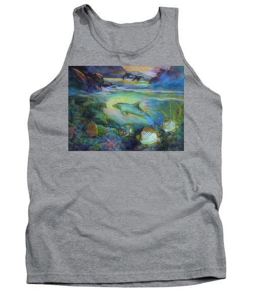 Dolphin Fantasy Tank Top