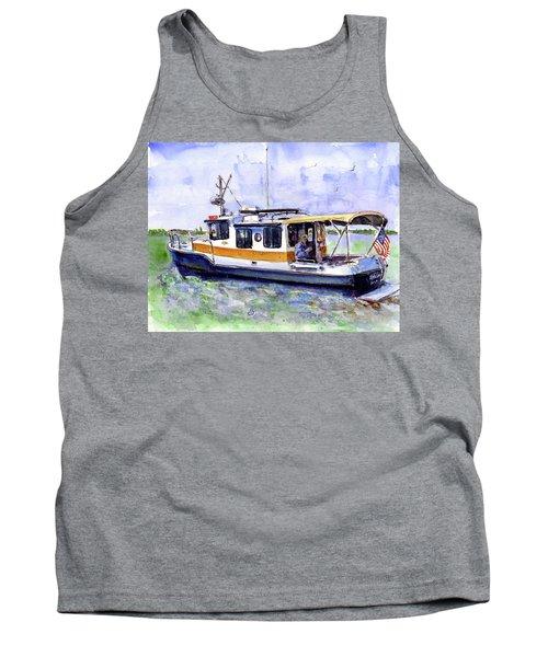 Don And Kathys Boat Tank Top by John D Benson