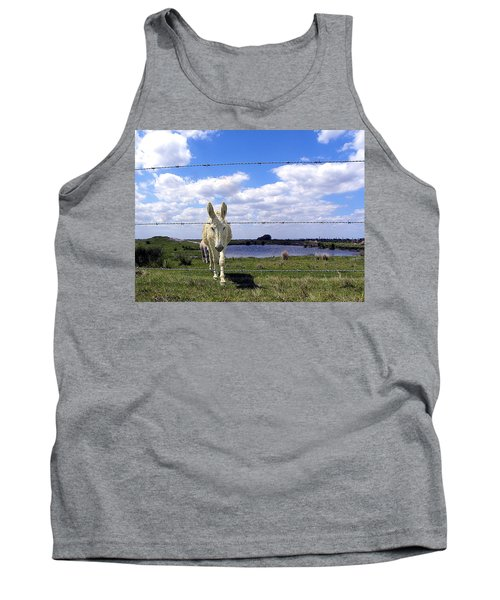 Tank Top featuring the photograph Don't Fence Me In 002 by Chris Mercer