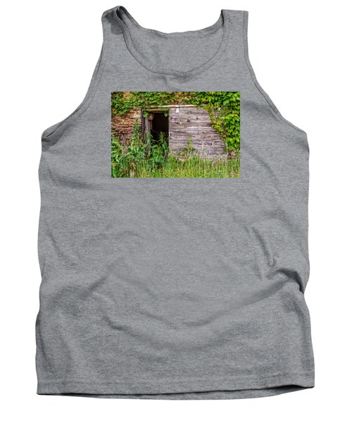 Tank Top featuring the photograph Door Ajar by Christopher Holmes