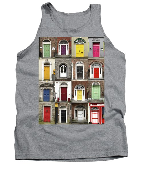 Doors Of Limerick Tank Top by Marie Leslie