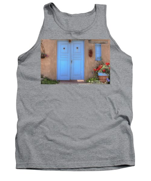 Doors, Peppers And Flowers. Tank Top