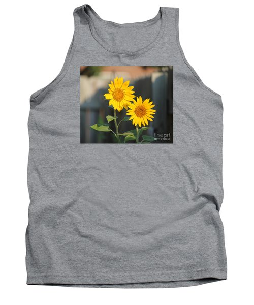 Double Sunflowers 2  Tank Top