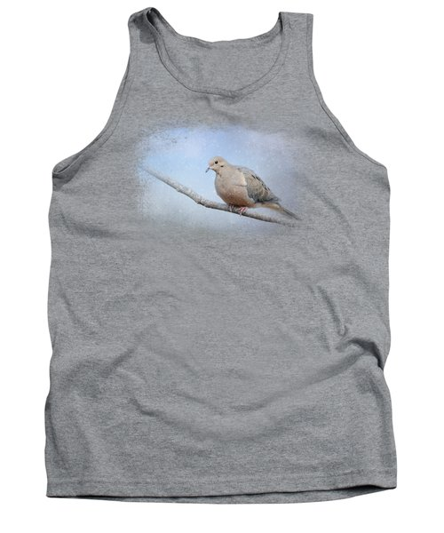 Dove In The Snow Tank Top