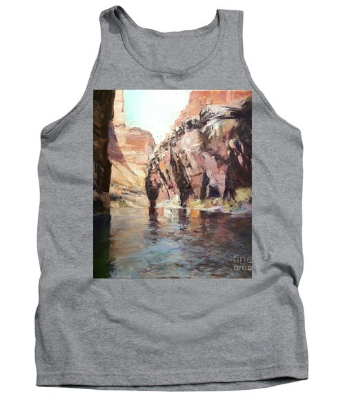 Down Stream On The Mighty Colorado River Tank Top