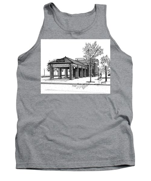 Downers Grove Main Street Train Station Tank Top