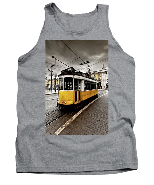 Downtown Tank Top by Jorge Maia