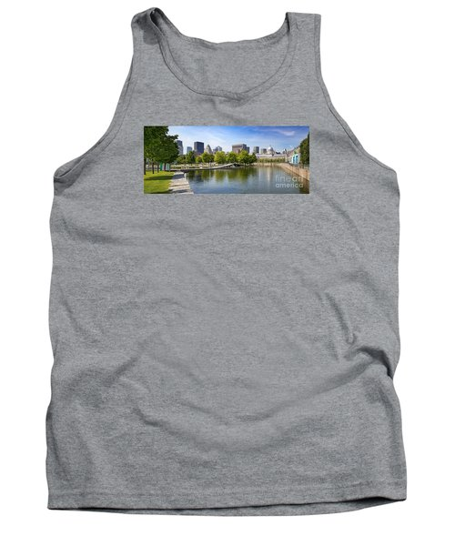 Downtown Montreal In Summer Tank Top