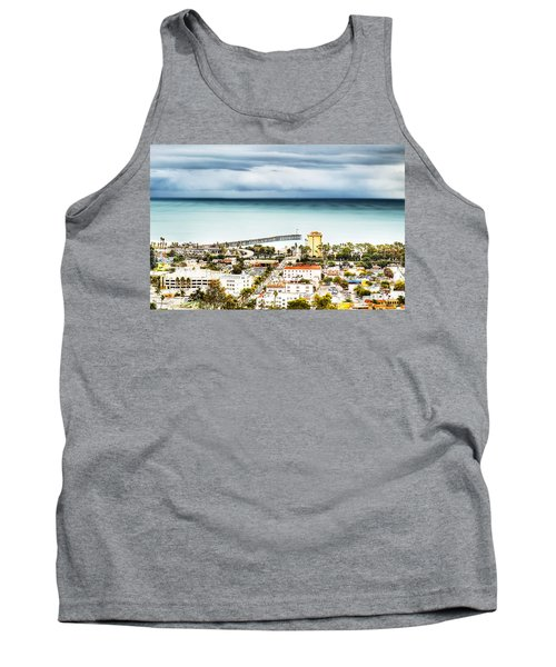 Downtown Ventura And Pier Tank Top