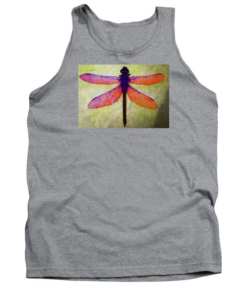Dragonfly 7 Tank Top by Timothy Bulone
