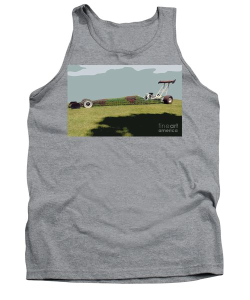 Dragster Flower Bed Tank Top