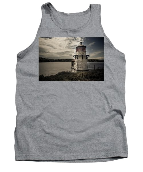 Dramatic Mid-day Shot Of Squirrel Point Tank Top
