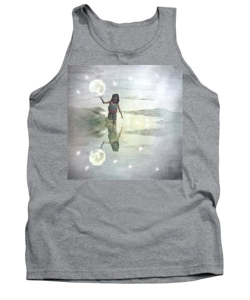 To Touch The Moon Tank Top