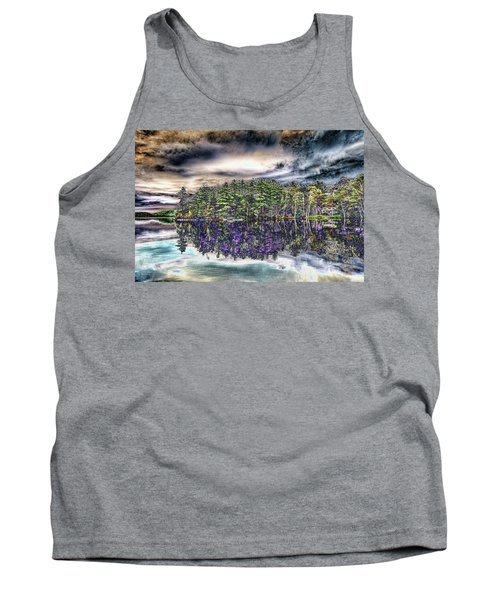 Dreaming Of The Past Tank Top by Daniel Hebard