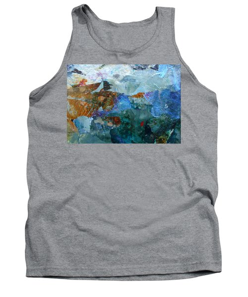 Tank Top featuring the painting Dreamland by Mary Sullivan