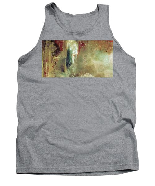 Dreams Come True - Earth Tone Art - Contemporary Pastel Color Abstract Painting Tank Top