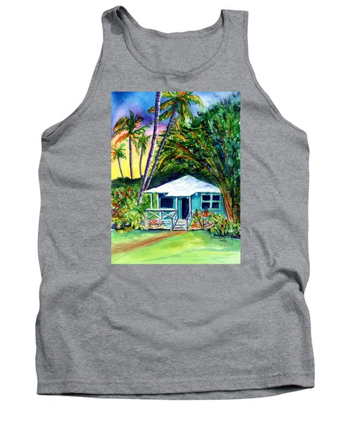 Tank Top featuring the painting Dreams Of Kauai 2 by Marionette Taboniar