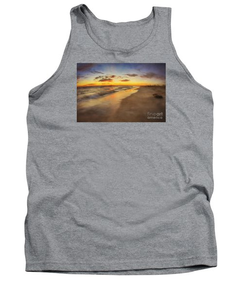 Dreamy Colorful Sunset Tank Top