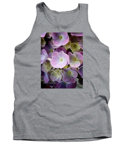 Tank Top featuring the photograph Dreamy Hydrangea by Mimulux patricia no No