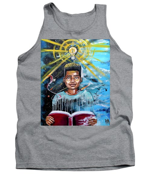 Drenched In Knowledge Tank Top