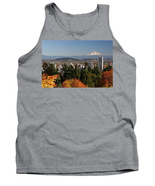 Dressed In Fall Colors Tank Top